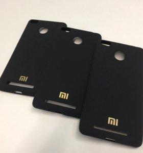 Силиконовый чехол под бархат Xiaomi Redmi 3S