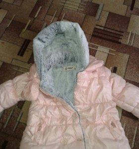 Куртка- пальто ,тёплая