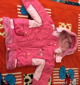 Курточка+комбинизон. Зима