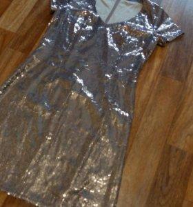 Платье вечернее пайетки