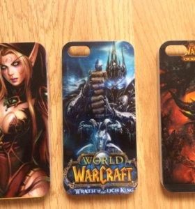 Чехлы World of Warcraft для iPhone 5