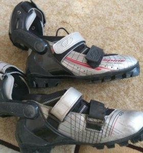 Детские лыжероллерные ботинки