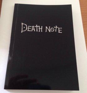 Death Note(тетрадь смерти на русском)