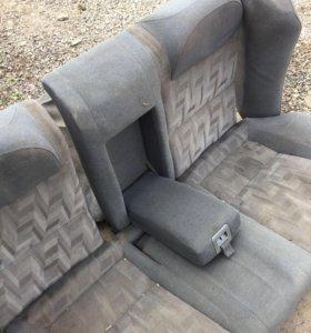 Задний диван на мазда 626