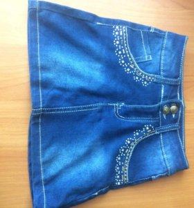 Юбка джинсовая(для девочки)