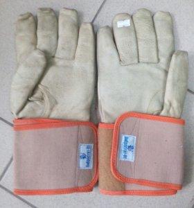 Надёжные виброзащитные перчатки, натуральная кожа