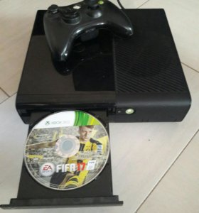 XBOX360 С FIFA17 И ДЖОСТИКОМ.