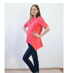 Новые джинсы для беременных на маленький рост.