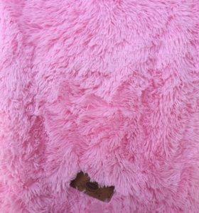 Плед травка 220*240 - нежно розовый