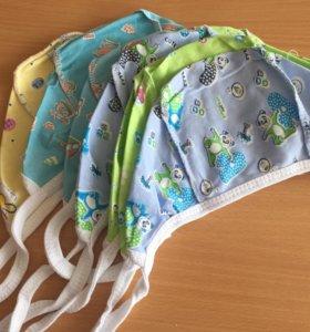 Новые чепчики для новорождённого