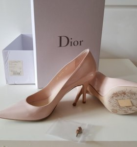 Туфли бежевые Dior