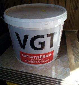 Шпатлевка акриловая универсальная 7,5 кг