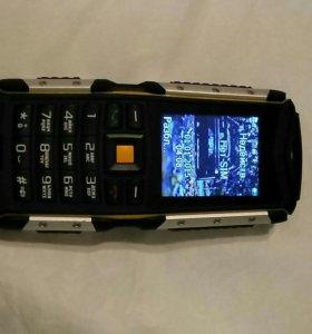 Бронированный, водонепроницаемый телефон Texet