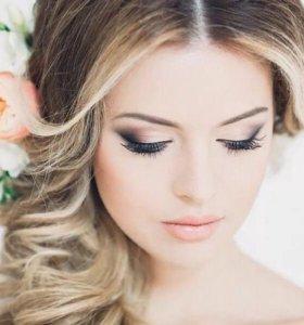 Макияж, свадебные и вечерние причёски
