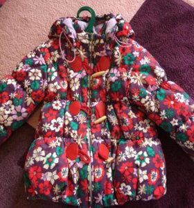 Куртка на девочку зимняя