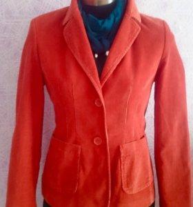 Вельветовый пиджак 44-46