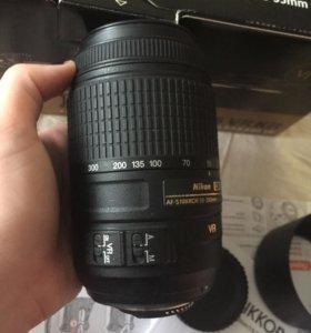 Объектив Nikon Dx AF-S NIKKOR 55-300 mm.