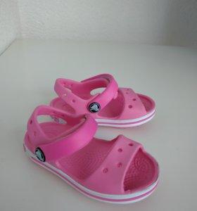 Сандалии Crocs, кроксы детские