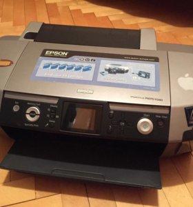 Принтер Epson r340 фотопринтер