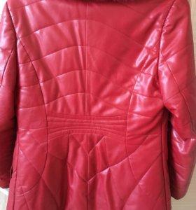 Пальто утепленное , демисезонное Кристиан диор
