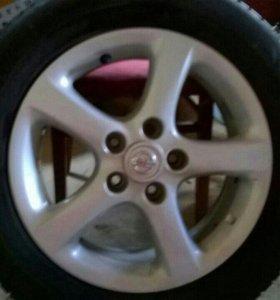 Литье на Nissan R 16 205/60 ( Michelin)