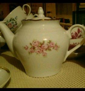 Чайник времён СССР (Фарфор)