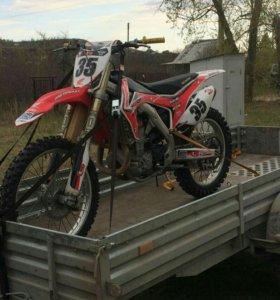 Мотоцикл CRF 450 R