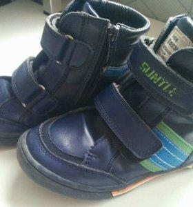 Осенние ботинки утепленные