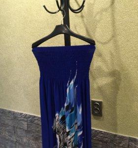 Платье + накидка