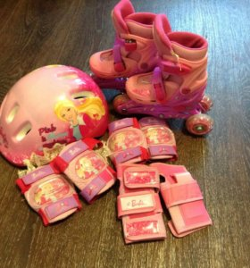 Ролики детские Барби