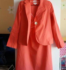 Платье и пиджак для беременных