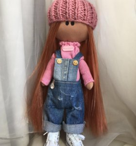 Кукла интерьерная ручная работа