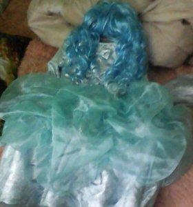 Платье Мольвины с париком