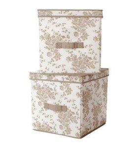 Коробка с крышкой ИКЕА