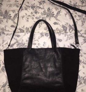 Новая дизайнерская сумка из натуральной кожи