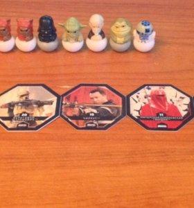 Фишки и фигурки персонажей Star Wars