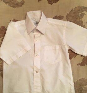 Рубашка с коротким рукавом на 7 лет