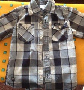 Рубашка для мальчика 110 см