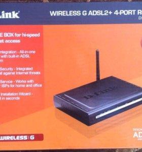 WI-FI роутер D-Link DSL- 2640 U
