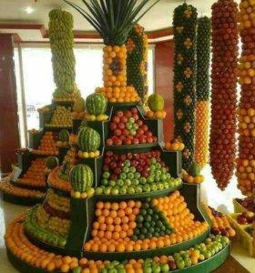 Овощи,фрукты, ягоды, зелень,сухофрукты, соления.