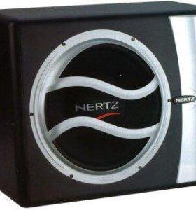 Сабвуфер Hertz EBX 250R+усилитель helix x max 2.2