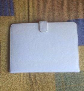 Чехол для планшета бело-кремовый