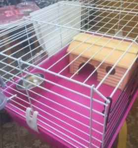 Клетка для кролика, шиншилл