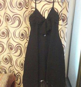 Шифоновое платье сарафан