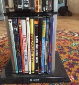 DVD Диски  + стойка