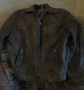 Натур кожаная куртка