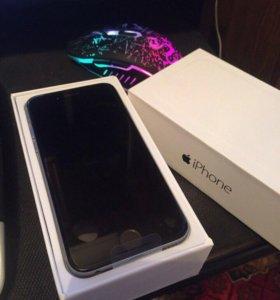 iPhone 6, 16Gb, чёрный, новый