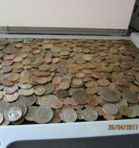 Куча советских монет