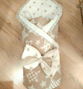 Конверт-одеяло для малыша