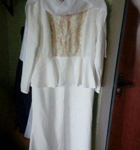 Платье на никаха.в комплекте.